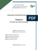 Bioi. Práctica II