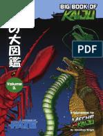 Big Book of Kaiju 03 - Kaiju of the Sea