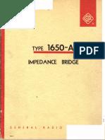 IMPEDANCE BRIDGE