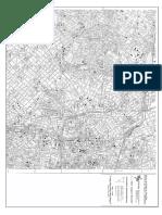 Mapa EMPLASA do Centro da Cidade de São Paulo (1:10.000)