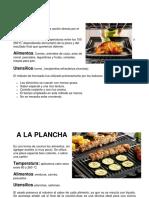 Tecnicas Culinarias