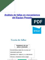 Analisis de Fallas - Materiales