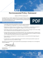 Environmental Policy Statement