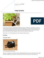ELM - Automatic Watering System