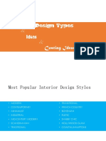 Interior Types for Client presentation