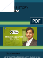 Success Story of OLA