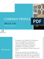 Blend Company Profile _Updated102016
