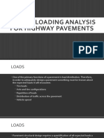Traffic Loading Analysis for Highway Pavements