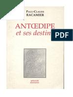 1989 Racamier Antœdipe Et Ses Destins