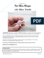Little Miss Turtle Pattern