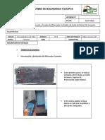 Informe de Pruebas y Evaluacion de Aftecooler y Enfriador de Aceite Cummins N14