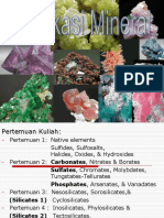 1. Native Elements and Sulfides WS
