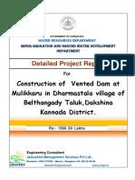 Dharmastahal Vented Dam Final