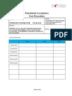 FAT Precedure - R 072 Nitrogen Package