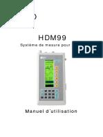 Hdm99 Manual 30 Fra
