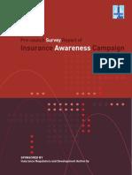 Insurance Awareness Survey Report.pdf