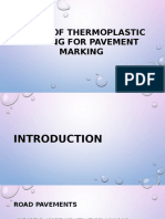 Thermoplastic for Pavement Marking