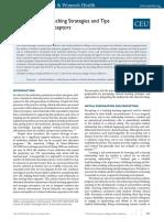 Journal of Midwifery & Women-s Health