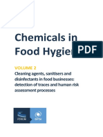 Chemicals in Food Hygiene