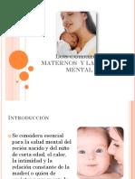 Los Cuidados Maternos