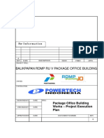 Appendix 4 - Method Statement (Project Execution Plan) for Building Works
