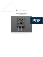 Adafruit Am2320 Temperature Humidity i2c Sensor
