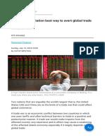 MPUTHIA Mediation Best Way to Avert Global Trade War