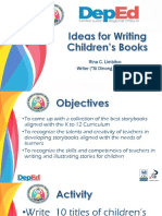 2 Ideas for Writing Childrens Books