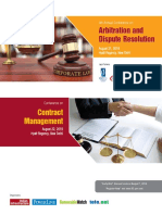 Conference_Arbitration and Contract Management
