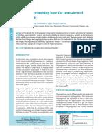 Oleogel - A Promising Base for Transdermal Formulations