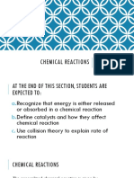 10. Chemical Reactions