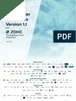 ZDHC WastewaterGuidelines V1.1 JUL19