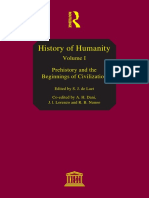 History of Mankind Volume I
