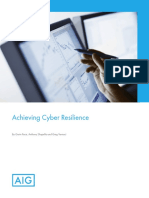 1158y Achieving Cyber Resilience Brochure