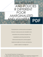 Social Welfare Laws and Policies for Different Poor Marginalized and Vulnerable Sectors