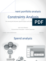 Constraints Analysis (JL Moreau - Proprietary)