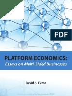 Platform Economics Essays on Multi Sided Businesses