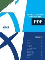 Cartilha Informativa Patrocinio BRB 2017