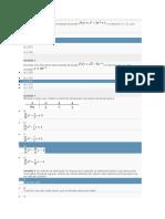 Exercícios de cálculo numérico