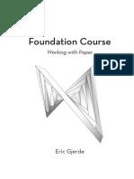 Eric Gjerde Bauhaus Foundation Course Instructions Pages
