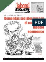 Alerta Laboral 31 Demandas Sociales Buscan El Cambio Del Modelo Economico