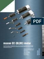 Maxon EC Motor Catalog Datas 1