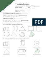 Prueba Geometría