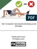 Rodillo de Espuma