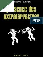 Von Däniken Erich - Présence Des Extraterrestres