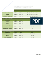 Programacion Horaria Terceras Evaluaciones (2019-i)