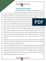 Gfsu information brochure