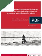 Elementos y Mecanismos de Discriminacion Que Sufren Las Mujeres Inmigrantes