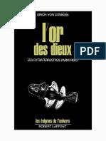 Von Däniken Erich - L'or Des Dieux