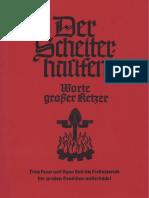 Kurt Eggers - Der Scheiterhaufen - Worte Grosser Ketzer